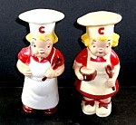 Click here to enlarge image and see more about item CC015: Campbell Soup Kids Salt & Pepper Shakers
