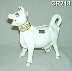 "Click here to enlarge image and see more about item CR218: ""Elsie"" the Cow Creamer"