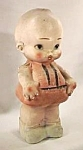 "Click here to enlarge image and see more about item CV017: 12"" Chalk Kewpie Doll Bank"
