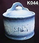 "Click here to enlarge image and see more about item K044: ""Blackberry"" Salt Box"