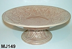 """Click to view larger image of Majolica """"Mythological"""" Compote/Cakestand (Image1)"""