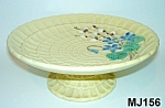 Click here to enlarge image and see more about item MJ156: Majolica Compote/Cakestand