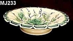 "Click here to enlarge image and see more about item MJ233: Majolica ""Grapes & Leaves""  Serving Bowl"
