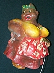 "Click here to enlarge image and see more about item SH580: Vintage ""Big Busted"" Mammy String Holder"