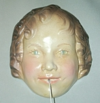 Click here to enlarge image and see more about item SH588: Vintage Shirley Temple String Holder