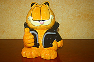 Too Cool Garfield Cookie Jar