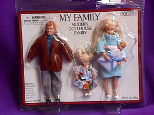 Dollhouse Family Blond Hair