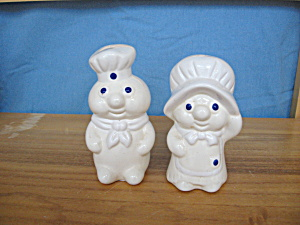 DOUGHBOY & GIRL SALT & PEPPER SET (Image1)