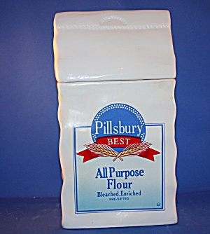 PILLSBURY ALL PURPOSE FLOUR COOKIE JAR (Image1)