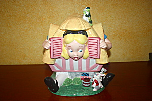 Alice In Wonderland Cookie Jar.