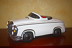 Glenn Appleman Rare Signd Mercedes Cookie Jar