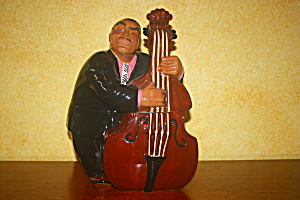Bass Man Cookie Jar