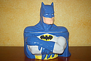 Batman Blue Cookie Jar