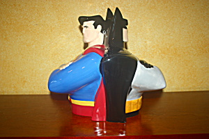 Batman/superman Cookie Jar