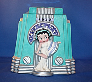 BETTY BOOP ART DECO COOKIE JAR (Image1)