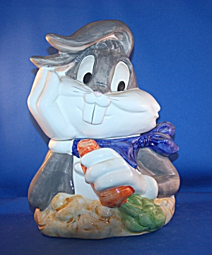 BUGS BUNNY WITH CARROT COOKIE JAR (Image1)