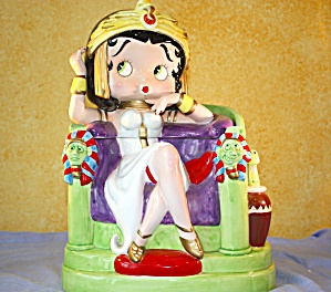 BETTY BOOP CLEOBOOPTRA COOKIE JAR (Image1)