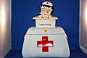 BETTY BOOP NURSE COOKIE JAR (Image1)