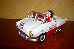 Betty Boop Coke White Convertible Cookie Jar