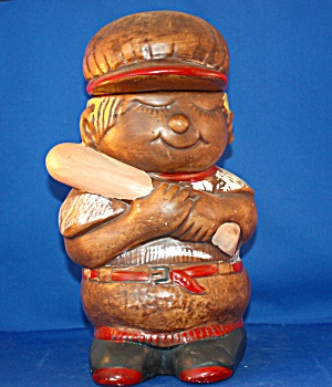 Baseball Boy Cookie Jar