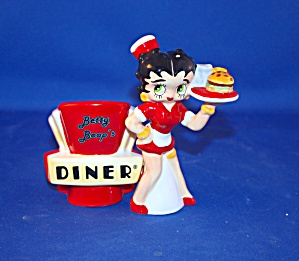 BETTY BOOP WAITRESS AT DINER SALT & PEPPER (Image1)