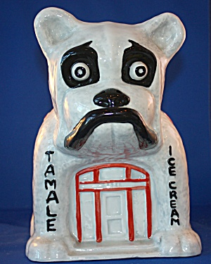 BULLDOG CAFE COOKIE JAR (Image1)