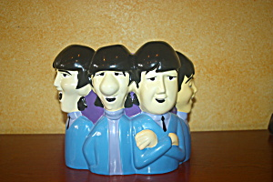 The Beatles Animated Series Cookie Jar (Rare)