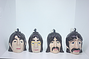 Rare Beatles Head Teapots Lorna Bailey
