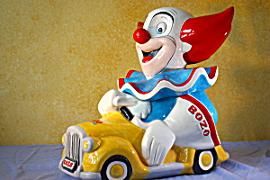 Bozo The Clown Cookie Jar