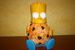 Bart Simpson Cookie Jar