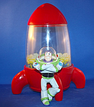 BUZZ LIGHT YEAR AND ROCKET COOKIE JAR (Image1)