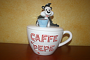Café Pepe Cookie Jar