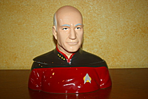Captain Picard Cookie Jar