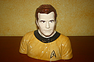 Capt. Kirk Cookie Jar