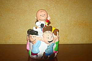 Charlie Brown & Gang Cookie Jar