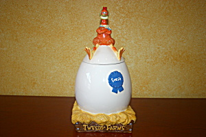 Chicken Run Cookie Jar