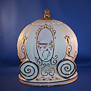 Cinderella's Magical Coach Ride Cookie Jar