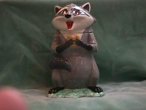 Meeko From Pocohontas Cookie Jar