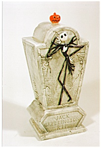 NIGHTMARE BEFORE CHRISTMAS Jack COOKIE JAR (Image1)