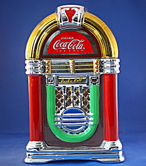 Coke Jukebox Cookie Jar