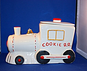 Cookie Rail Road Cookie Jar