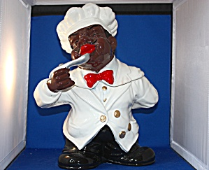 Cooking Chef Cookie Jar