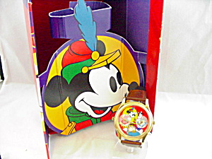 1993 DISNEYANA CONVENTION WATCH 2 TIME ZONE (Image1)