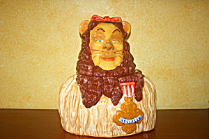 Cowardly Lion Cookie Jar