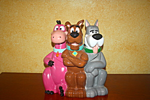 Dino, Scooby & Astro Cookie Jar