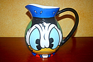 Donald Duck Vase/pitcher Rare