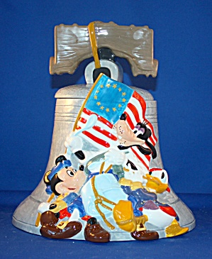 DISNEY PATRIOTIC FAB COOKIE JAR (Image1)