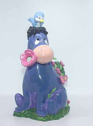 Eeyore With Flowers Teapot