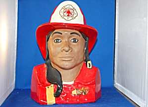 FIRE FIGHTER COOKIE JAR (Image1)