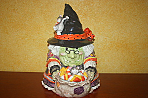 Fit & Floyd Gypsy Witch Cookie Jar
